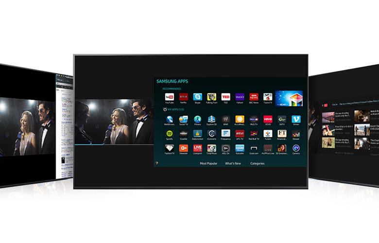 Bạn có thể chia đôi màn hình vừa xem phim vừa duyệt web vô cùng thuận tiện