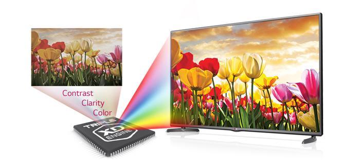 Chip xử lý Triple XD Engine giúp ảnh sâu, rõ nét và đẹp hơn