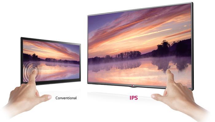 Tấm nền IPS cao cấp cho độ bền cao và hình ảnh sáng đẹp