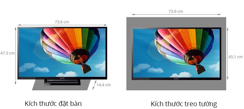 Tivi LED Sony KDL-32R410B - Xem phim từ USB và ổ cứng đơn giản không gì bằng