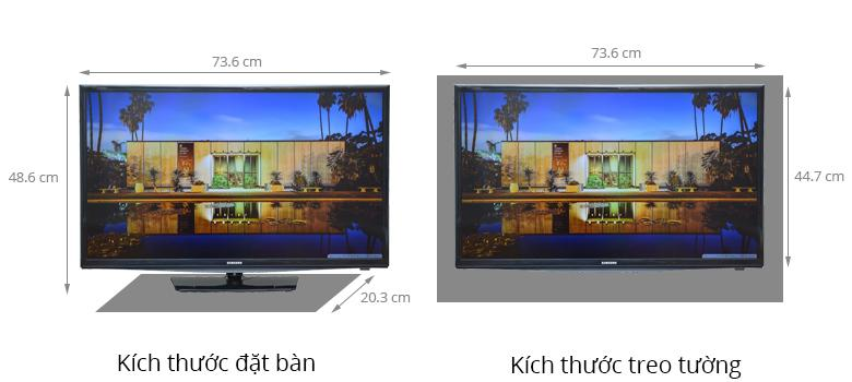 Tivi LED Samsung UA32H4100AKXXV