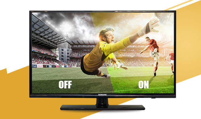 Internet Tivi Samsung UA32H4303 - Chế độ bóng đá