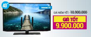 Khuyến mãi Tivi Internet Tivi LED Samsung UA40H5303 40 inch