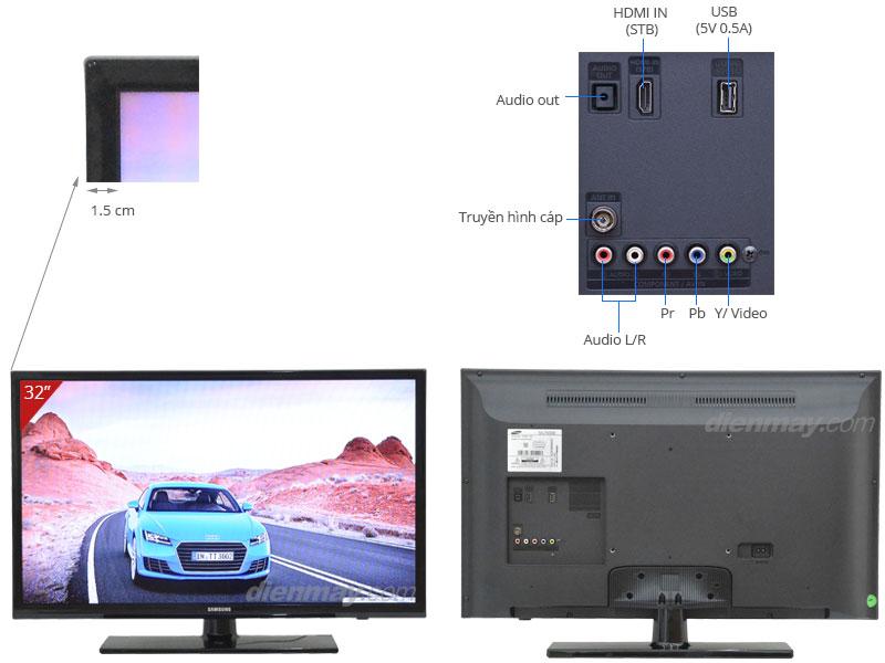 Thông số kỹ thuật Tivi LED Samsung UA32FH4003 32 inch