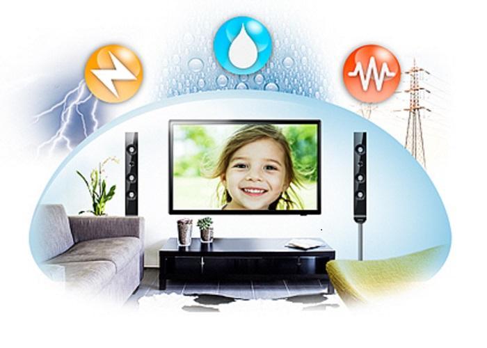 Bộ ba bảo vệ Triple Protector trên tivi Samsung
