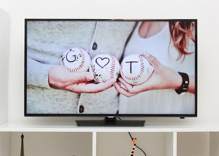Tivi có viền màn hình mỏng giúp những khung hình thực sự ấn tượng