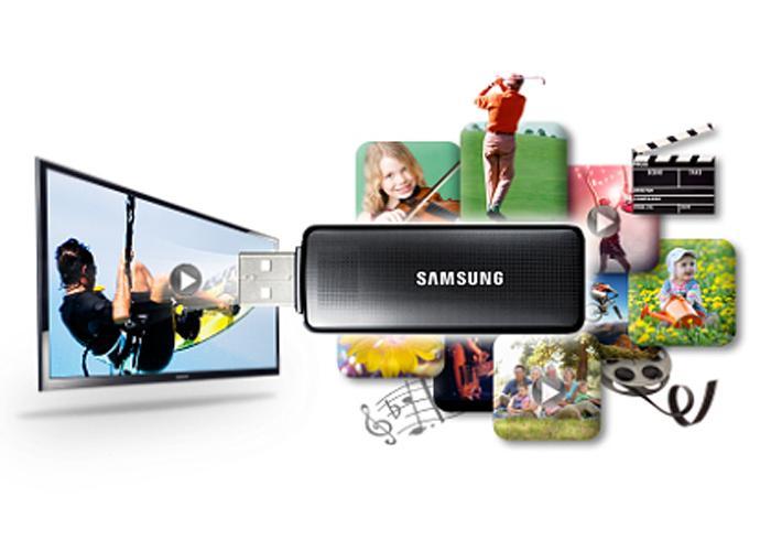 Kết nối USB giúp mở rộng thế giới giải trí