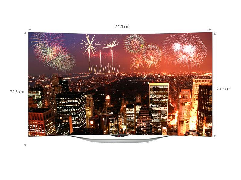 Thông số kỹ thuật Smart Tivi OLED cong LG 55 inch 55EC930T