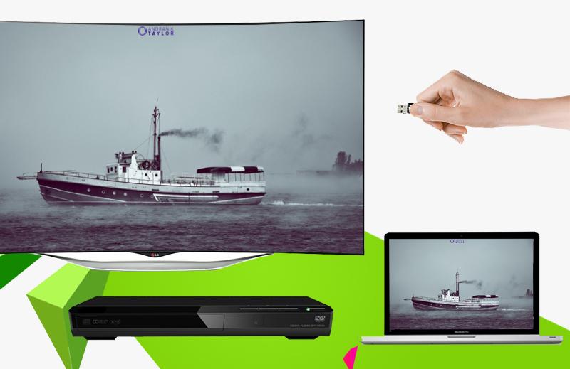Smart Tivi 3D OLED LG 55EC930T 55 inch - Mở rộng nguồn giải trí với khả năng kết nối với nhiều thiết bị giải trí như laptop, USB, đầu DVD,…