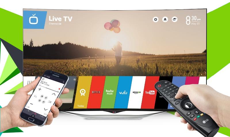 Smart Tivi 3D OLED LG 55EC930T 55 inch - Điều khiển tivi dễ dàng bằng ứng dụng LG TV Plus trên điện thoại của bạn