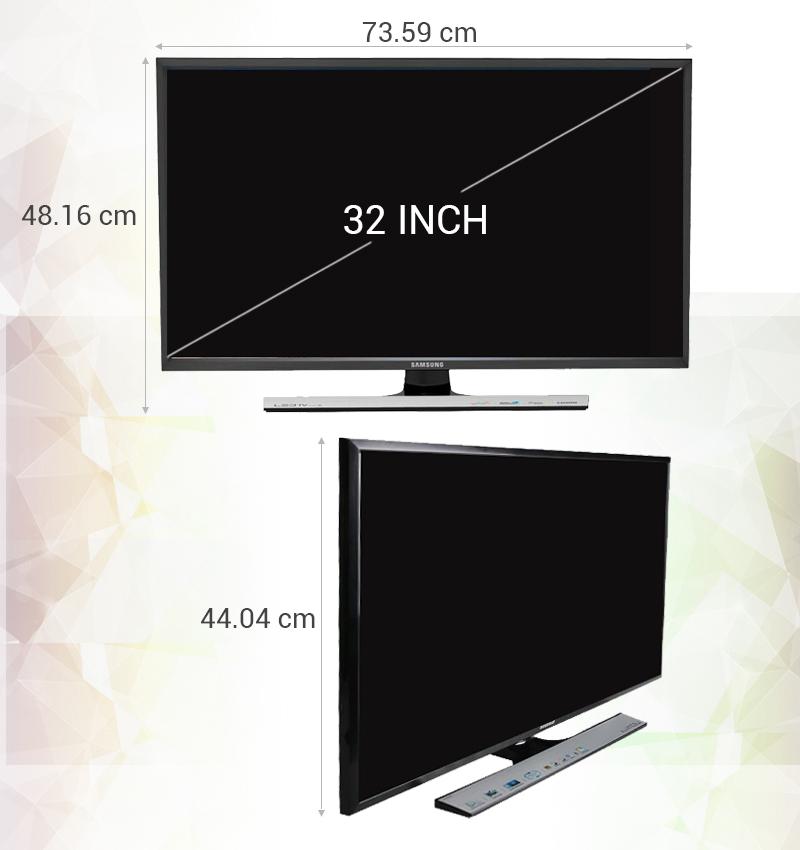 Tivi LED Samsung UA32J4100 32 inch - Thông số kỹ thuật