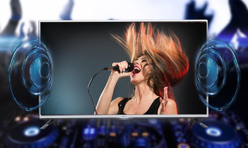 Tivi LED Samsung UA32J4100 32 inch - Đắm chìm trong không gian âm thanh vòm đén từ nhiều hướng với công nghệ Dolby Digital Plus