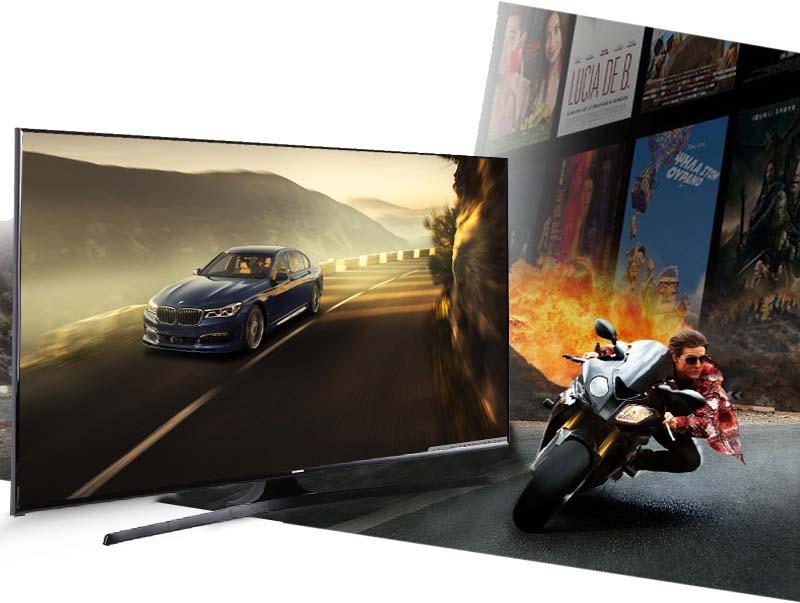 Tivi LED Samsung UA48J5100 48 inch  - Tần số quét 100 Hz sẽ mang đến những hình ảnh siêu thực, giảm thiểu tối đa tình trạng nhòe hình, giật hình