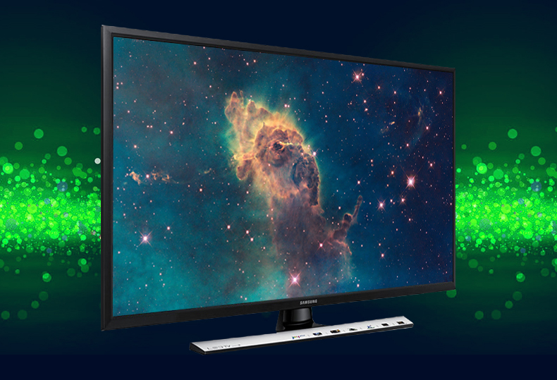 Thiết kế khung tranh với màn hình 24 inch nhỏ gọn cho không gian khiêm tốn