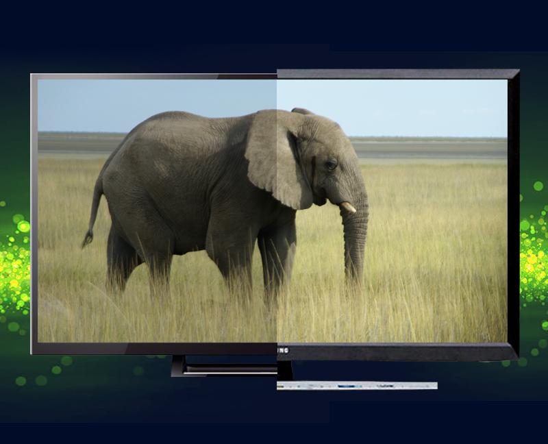 Công nghệ Wide Color Enhancer Plus với hệ màu mở rộng hơn, mang đến những màu sắc phong phú, sống động cho hình ảnh HD thêm đẹp mắt