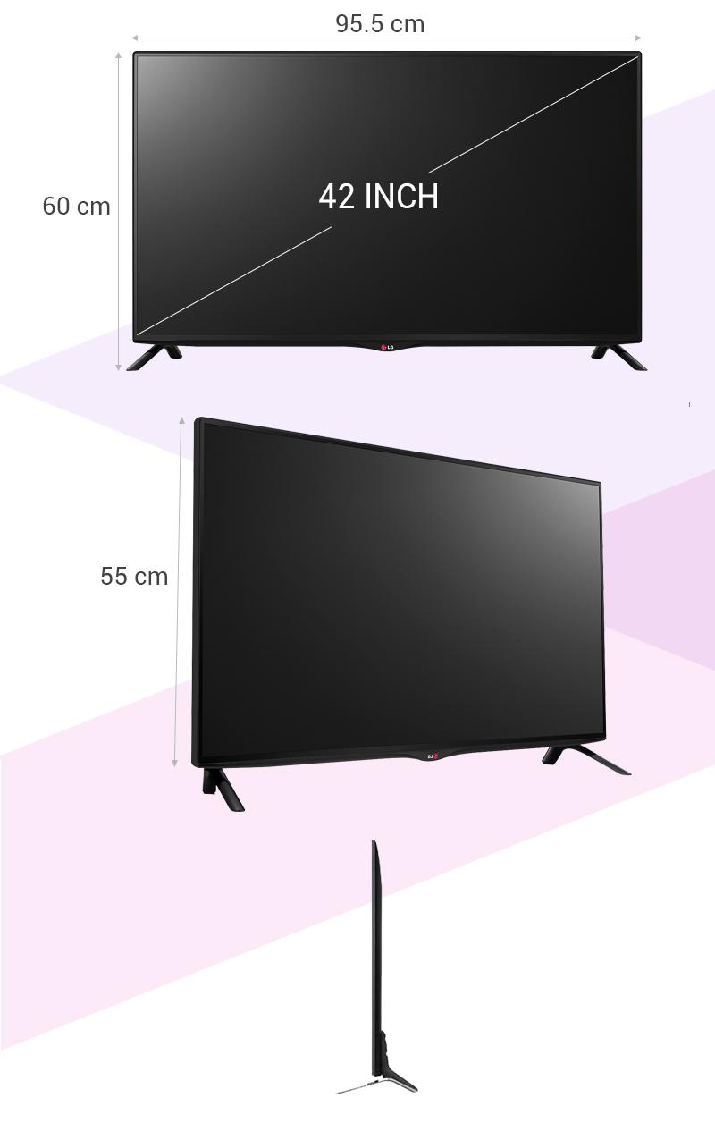 Smart Tivi LG 42UB700T 42 inch - Thông số kỹ thuật