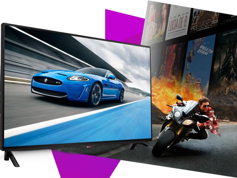 Smart Tivi LG 42UB700T 42 inch - Giảm thiểu tối đa tình trạng nhòe hình với tần số quét 100Hz