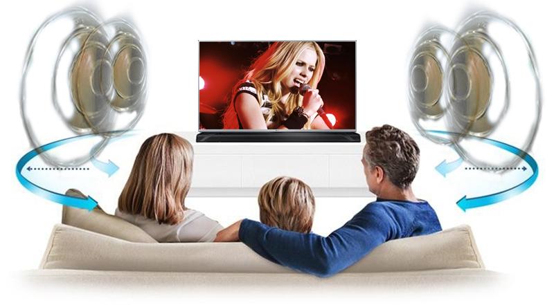 Tivi LED LG 49LF540T 49 inch - Trải nghiệm âm thanh như đang nghe trực tiếp với công nghệ Virtual Surround