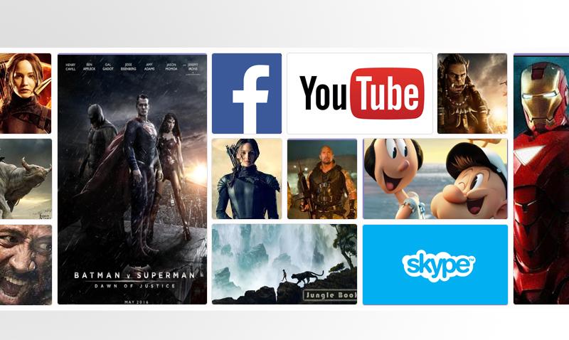 Smart Tivi Samsung 40 inch UA40J5500 - Đọc báo, xem phim, nghe nhạc, kết nối bạn bè