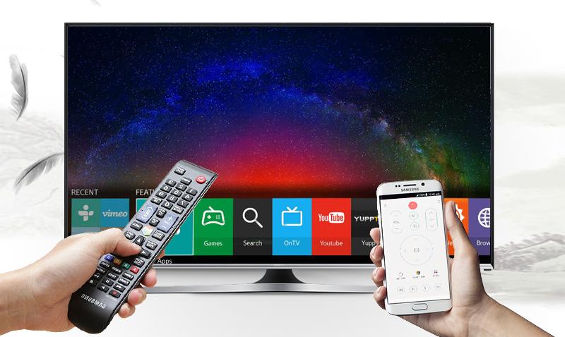 Smart Tivi Samsung 40 inch UA40J5500 - Điều khiển tivi bằng điện thoại qua ứng dụng Samsung SmartView