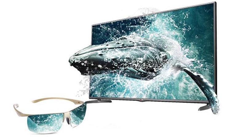 Tivi trang bị tính năng xem 3D hiện đại