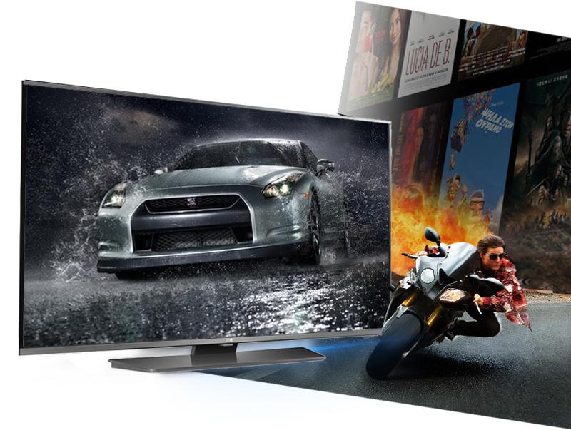 Smart Tivi LG 49 inch 49LF630T - Hiển thị hình ảnh mượt mà, không giật, đứng hình nhờ tần số quét 100 Hz