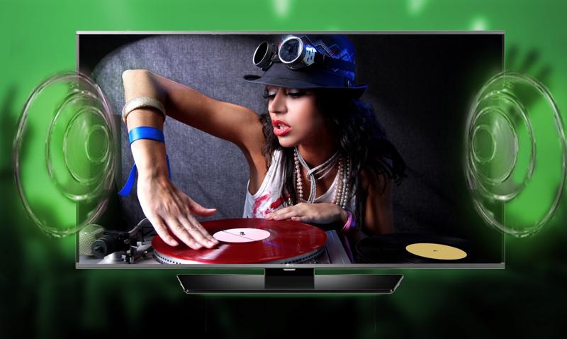 Smart Tivi LG 49 inch 49LF630T - Âm thanh lan tỏa khắp căn phòng với công nghệ Virtual Surround Plus