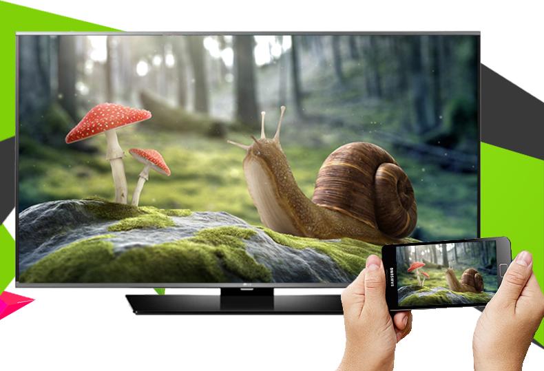 Smart Tivi LG 49 inch 49LF630T - Điều khiển tivi bằng điện thoại, máy tính bảng qua ứng dụng LG TV Plus