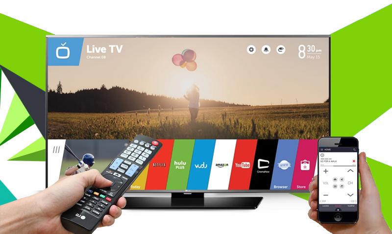 Smart Tivi LG 49 inch 49LF630T - Chiếu hình ảnh từ điện thoại, máy tính bảng lên tivi
