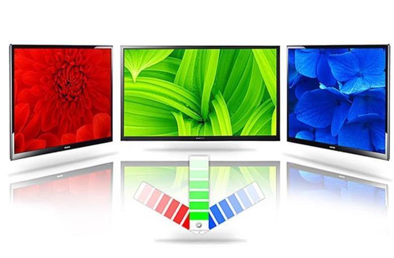 Màu sắc sống động với hệ màu được mở rộng