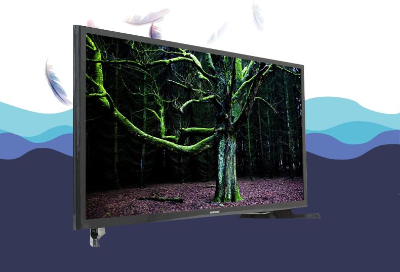Tivi LED Samsung UA32J4003 32 inch - Sở hữu đường nét hiện đại, tinh tế giúp tivi trở thành điểm nhấn đắt giá, điểm tô cho không gian sống của gia đình bạn