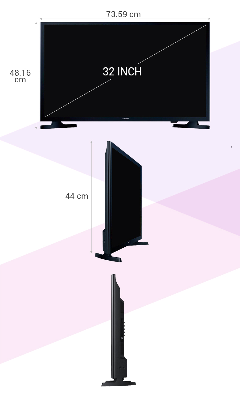 Internet Tivi LED Samsung UA32J4303 - Thông số kỹ thuật