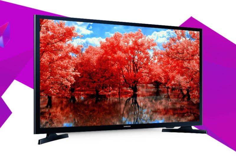 Internet Tivi LED Samsung UA32J4303 - Thiết kế nhỏ gọn cùng chân đế vững chãi