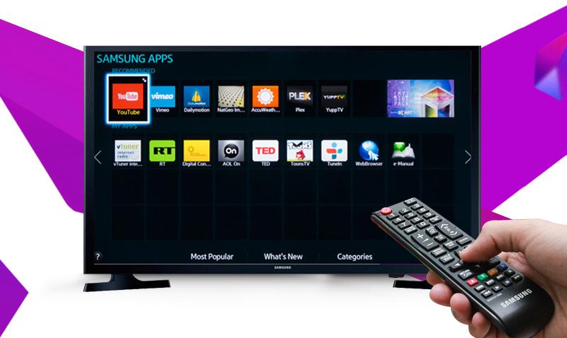 Internet Tivi LED Samsung UA32J4303 - Xem phim, lướt web,… dễ dàng