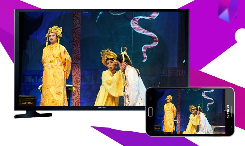 Internet Tivi LED Samsung UA32J4303 - Chiếu hình ảnh từ điện thoại lên tivi chỉ với vài bước đơn giản