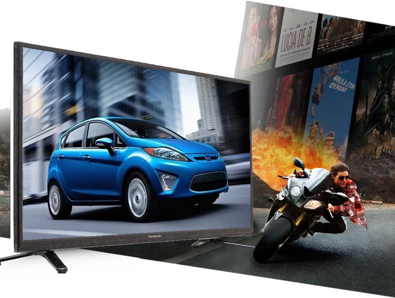 Tivi Panasonic TH-32C300V 32 inch - Khi bạn xem những hình ảnh chuyển động nhanh sẽ không có tình trạng nhòe, giật hình nhờ tần số quyét 100 Hz
