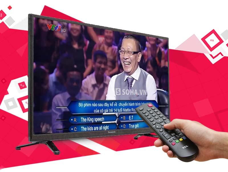 Tivi Panasonic TH-32C300V 32 inch - Đầu thu DVB-T2 mang đến nhiều kênh truyền hình kỹ thuật số miễn phí