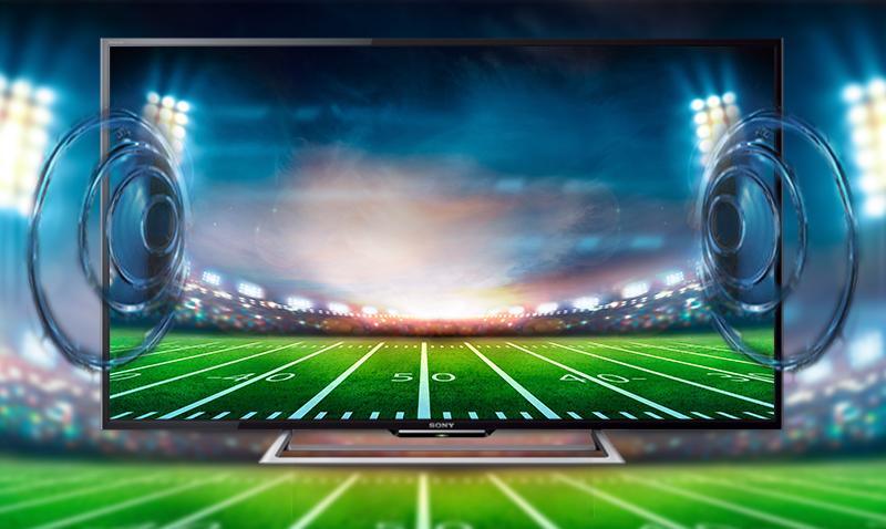 Internet Tivi Sony KDL-48R550C 48 inch - Âm thanh trung thực, nổi bật