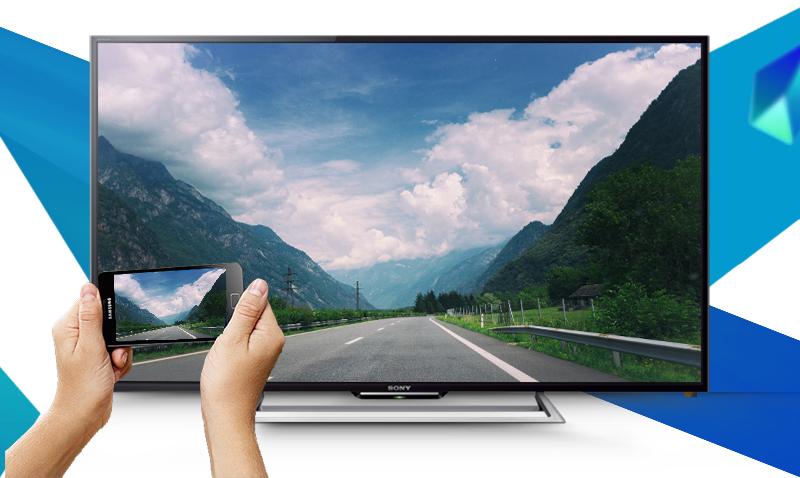 Internet Tivi Sony KDL-48R550C 48 inch - Chia sẻ hình ảnh dễ dàng