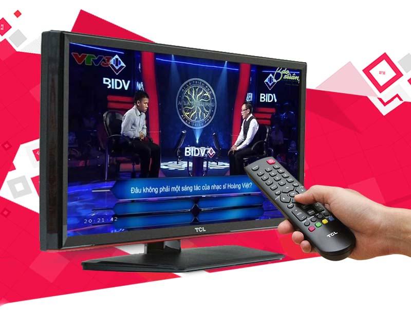 Tivi LED TCL L24D2700D 24 inch - Xem truyền hình kỹ thuật số không cần mua thêm đầu thu