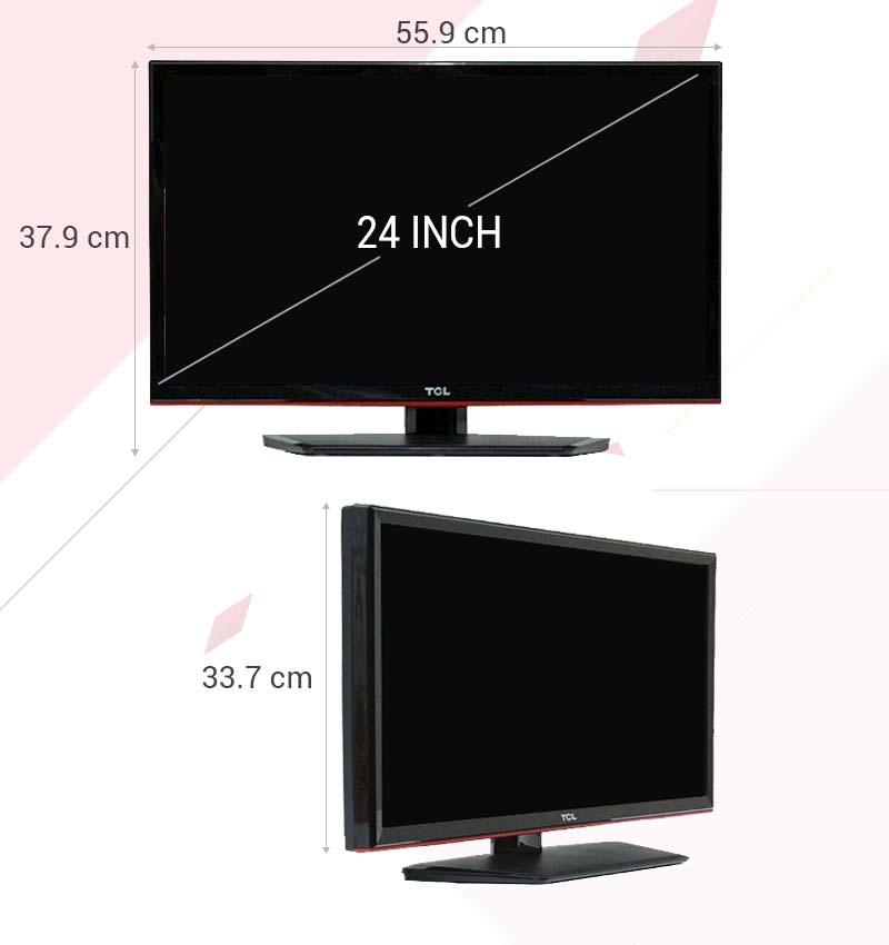 Tivi LED TCL L24D2700D 24 inch - Thông số kỹ thuật
