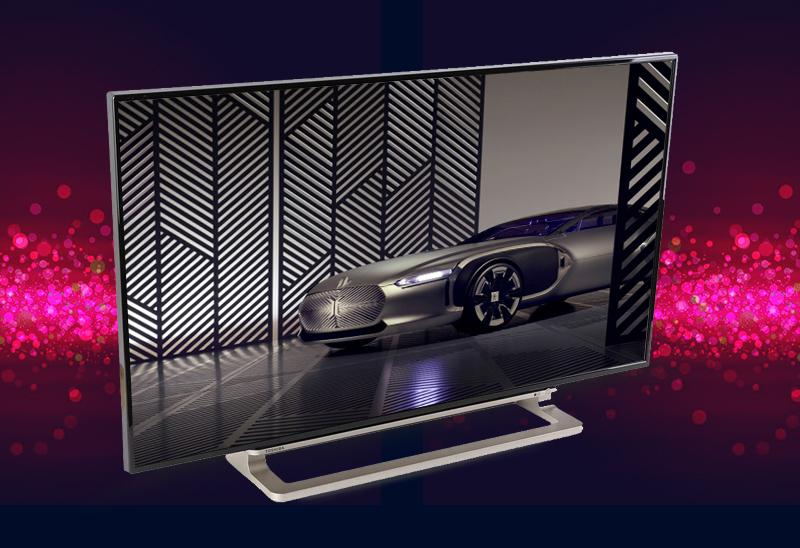Smart Tivi Toshiba 40 inch 40L5550 - Thiết kế ấn tượng với kiểu dáng thanh mảnh cùng chân đế sáng bóng