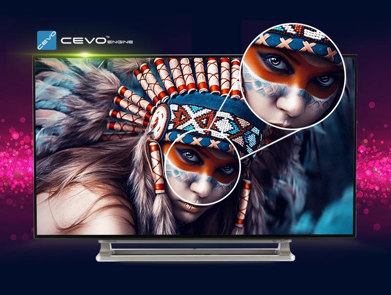 Smart Tivi Toshiba 40 inch 40L5550 - Tivi Full HD trang bị khả năng điều chỉnh hình ảnh tuỳ theo ánh sáng tự nhiên bên ngoài