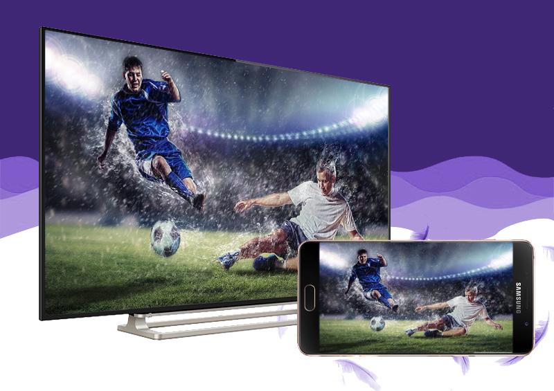 Smart Tivi Toshiba 50 inch 50L5550 - Chiếu hình ảnh từ điện thoại lên tivi dễ dàng