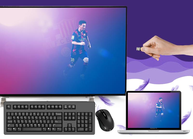 Smart Tivi Toshiba 50 inch 50L5550 - Kết nối tivi với USB, máy tính, dàn âm thanh…