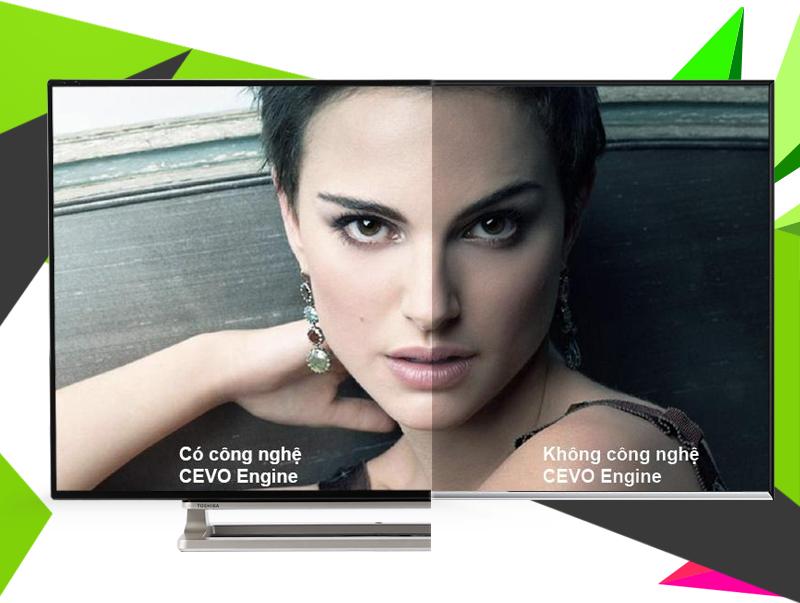 Smart Tivi Toshiba 55 inch 55L5550 - Độ phân giải Full HD cùng khả năng tự điều chỉnh ánh sáng màn hình dựa trên ánh sáng căn phòng