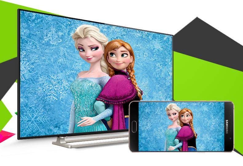 Smart Tivi Toshiba 55 inch 55L5550 - Chiếu hình ảnh từ điện thoại, máy tính bảng lên tivi