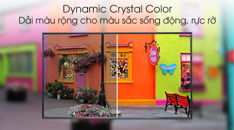 Công nghệ Dynamic Crystal Color