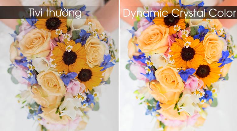 Dynamic Crystal Color