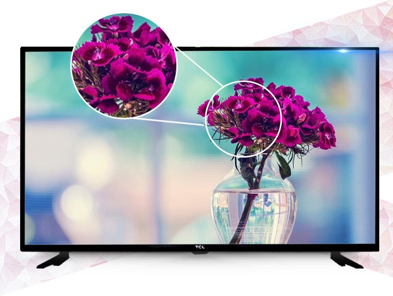 Tivi TCL 40 inch L40D2700D- Hình ảnh sắc nét